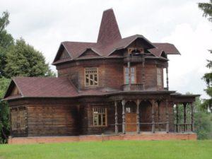 Усадьба-дача фабриканта Гудкова построена в конце XIX столетия, передана Бородинскому музею