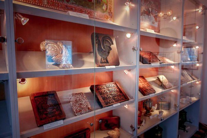 Экспозиции музея «Городецкий пряник»