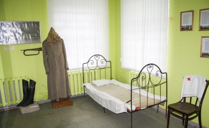 Экспозиция музея Городец на Волге