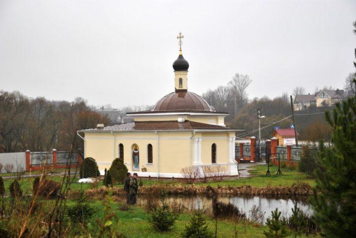 Часовня Стефано-Махрищского монастыря