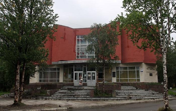 Библиотека имени Ларисы Гладиной и Краеведческий музей
