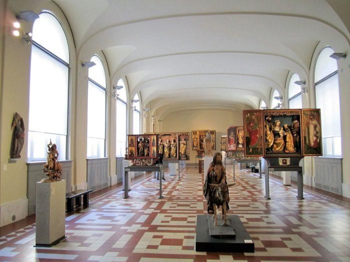 Музей Боде (выставочный зал)