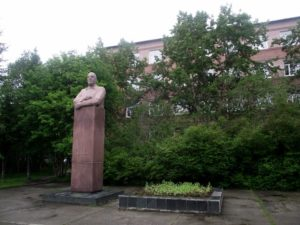 Памятник академику Ферсману