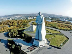 Памятник Защитникам Советского Заполярья («Алёша»)