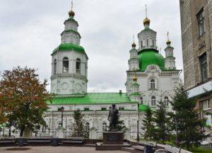 Свято-Покровский кафедральный собор в Красноярске