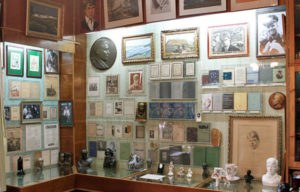 Экспонаты музея Сергея Есенина