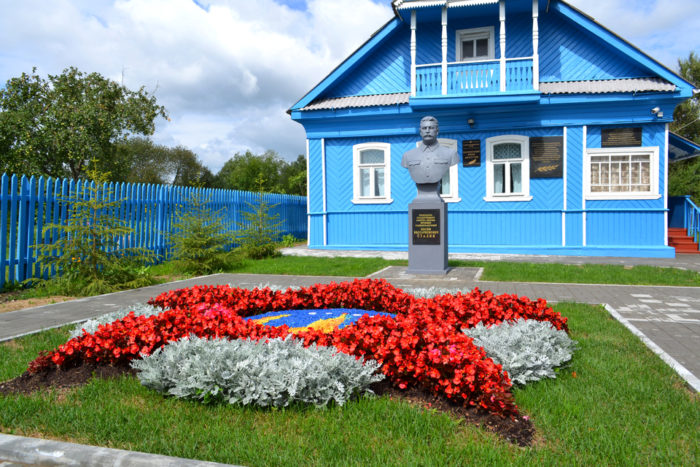 Изба-музей И.В.Сталина