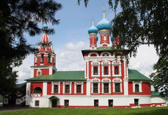 Церковь Димитрия на крови. Колокол, сосланный в Сибирь