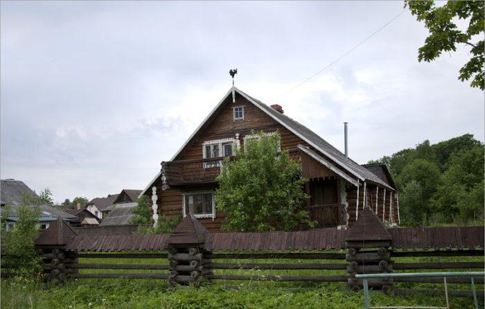 Дом-дача актера А. Абдулова в Валдае