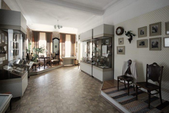Экспозиции музея уездного города
