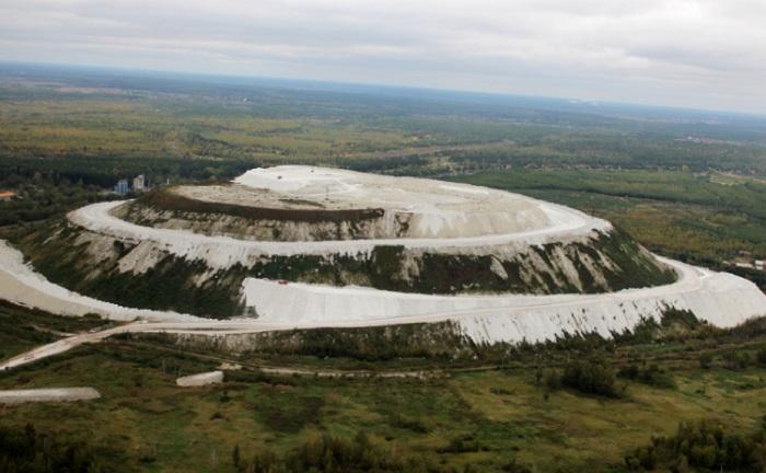Гора из фосфогипса