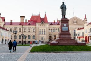 Красная площадь: центральная площадь Рыбинска