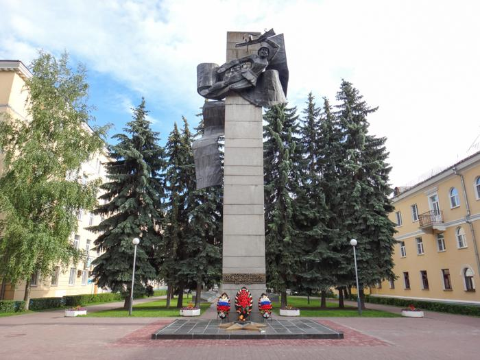 Мемориальный комплекс в честь воинов Великой Отечественной