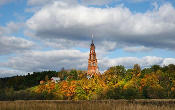 Окрестности Серпухова: старинные усадьбы и террасный заповедник