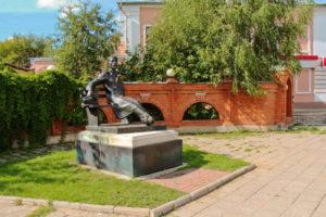 Памятник Антону Павловичу Чехову
