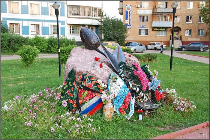 Памятник-мемориал «Черный тюльпан»