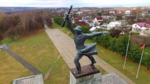 Перемиловская высота и мемориал советским воинам в центре города