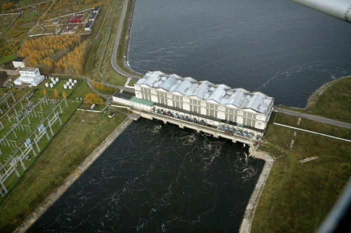 Рыбинская гидроэлектростанция