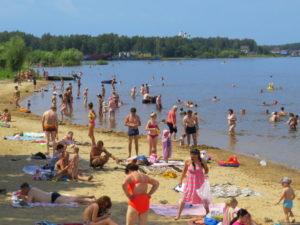 Волжские пляжи в Переборах