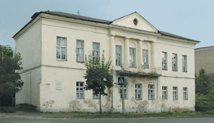 Бывшее здание земской управы