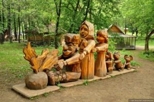 Этнопарк Деревня Ермака