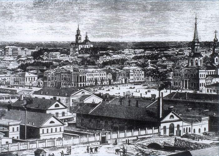 Екатеринбург в 18 веке
