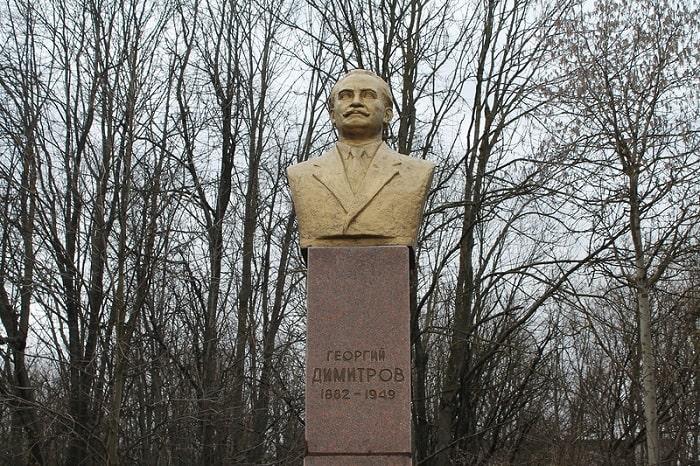 Памятник Димитрову в Железногорске