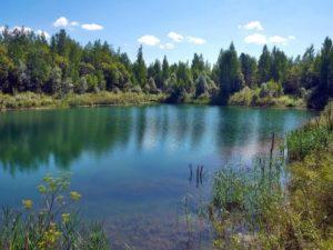 Цветные озера Железногорска