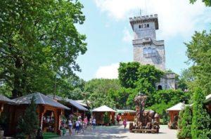 Гора Ахун и её смотровая башня