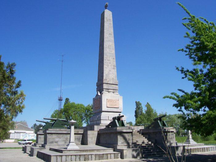 Памятник участникам похода Таманской Красной армии