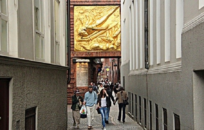 Арка на улице Бётхерштрассе