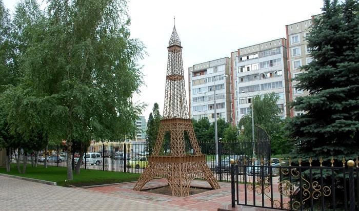 Эйфелева башня в Обнинске