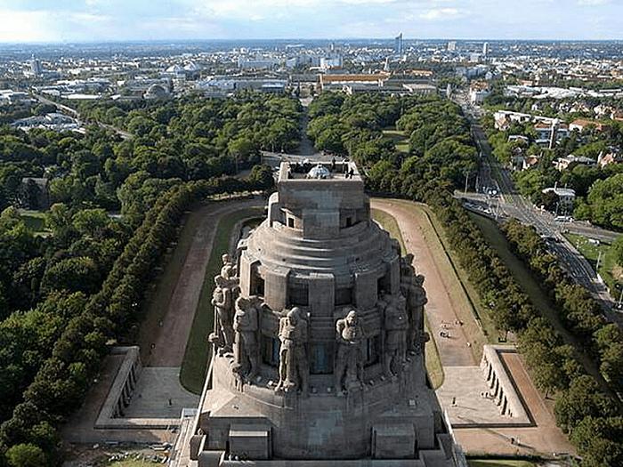 Купол монумента Битвы Народов