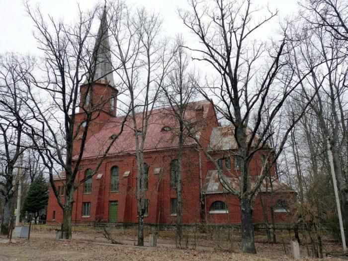 Лютеранская кирха Святого Петра