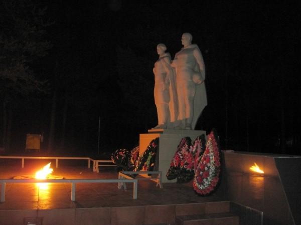 Памятник «Никто не забыт»