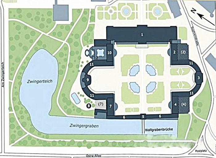 Схема строений Цвингера
