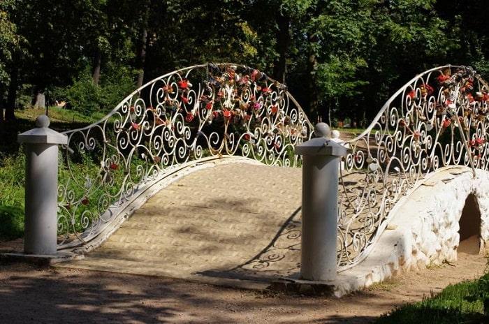Свадебный мостик
