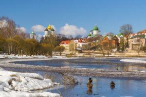 Водоемы Пскова