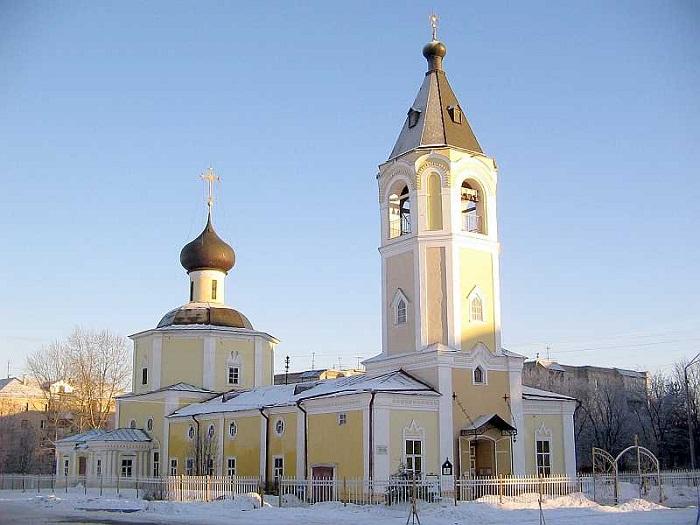 Церковь Покрова Богородицы на Козлёне