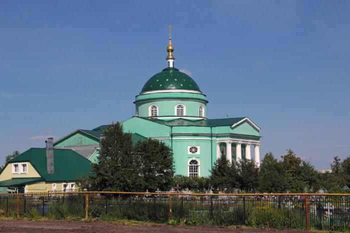 Церковь святого Сергия Радонежского