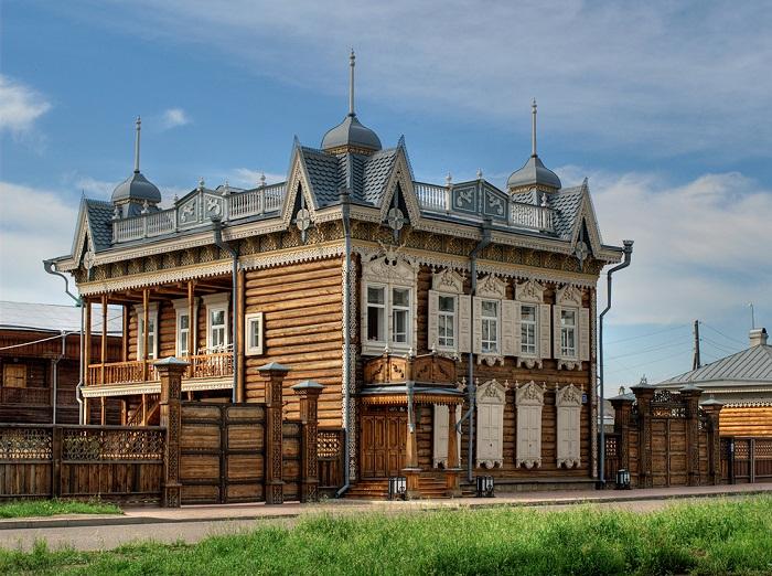Дом купцов Шастиных