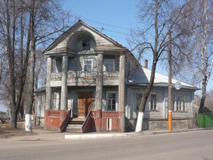 Купеческие и дворянские дома – шедевры провинциального классицизма