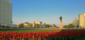 Площадь Ленина и Парк «Волжский»