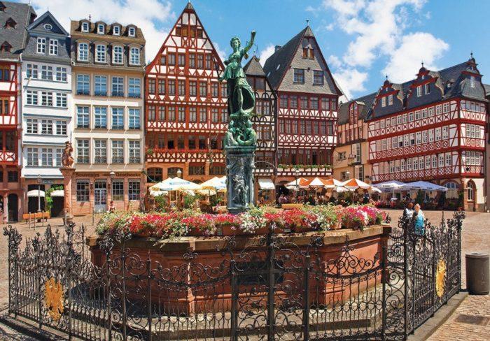 Площадь Рёмерберг (Römerberg)