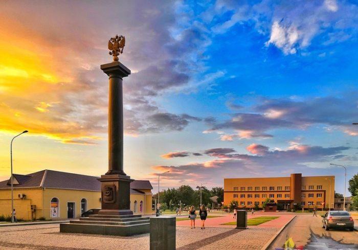 Стела Калач-на-Дону – Город воинской славы