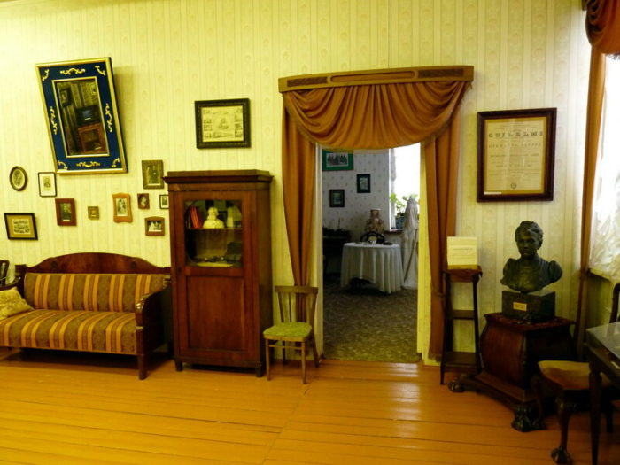 Экспозиция музея С. Ковалевской