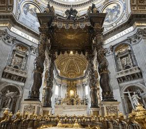 Главный алтарь собора св. Петра