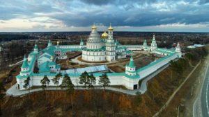 Общий вид Новоиерусалимского монастыря