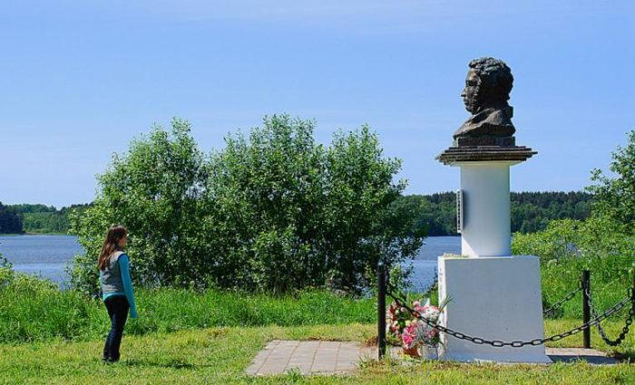 Парк бывшей усадьбы Ушаковых