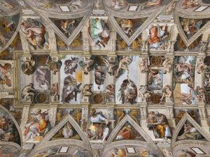 Росписи свода Сикстинской капеллы